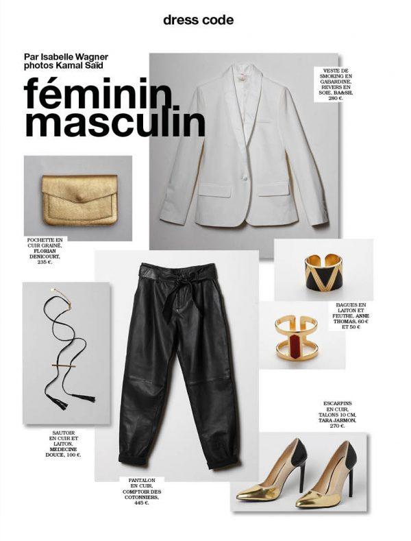 dresscode féminin masculin