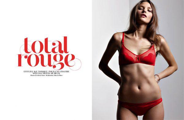 mode lingerie rouge