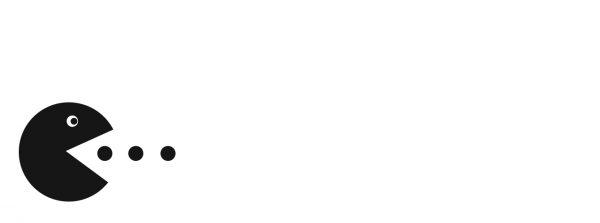 blanc pacman
